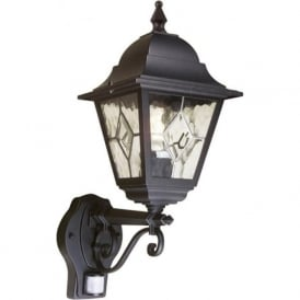 NORFOLK traditional garden lantern with PIR sensor