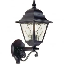 NORFOLK traditional leaded glass garden wall lantern