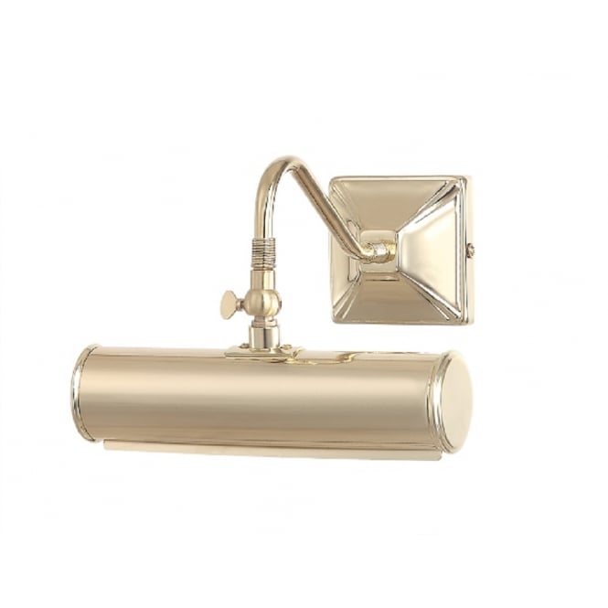 Chester Collection PICTURE LIGHT small gold polished brass tradtitional picture light