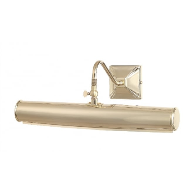 Chester Collection PICTURE LIGHT traditional gold polished brass picture light