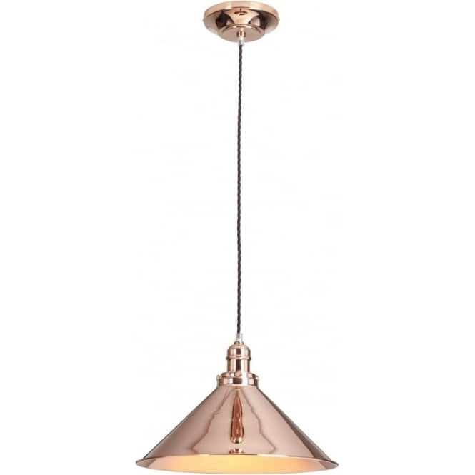 Copper Over Table Ceiling Pendant Light Classic French Bistro Styling