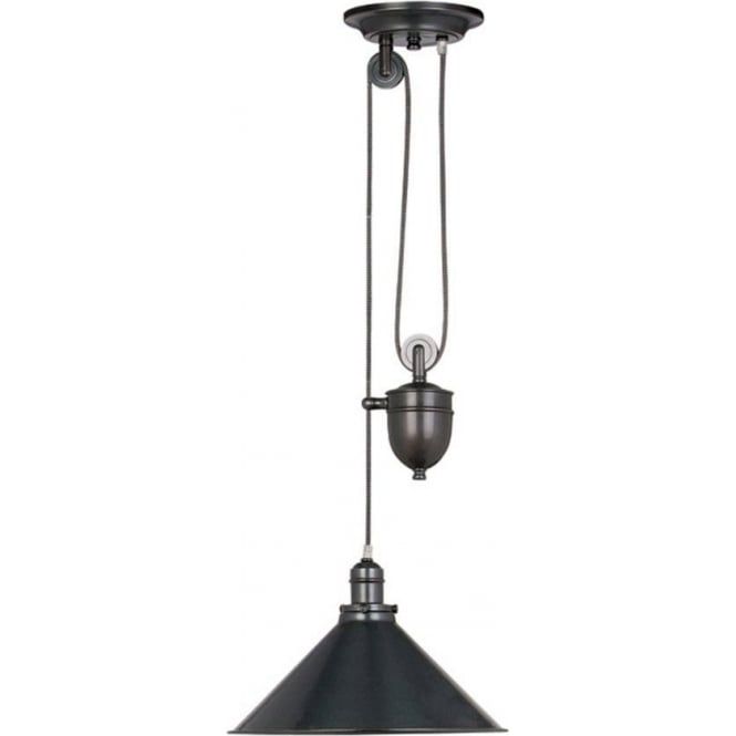 Chester Collection PROVENCE French style old bronze rise & fall ceiling light