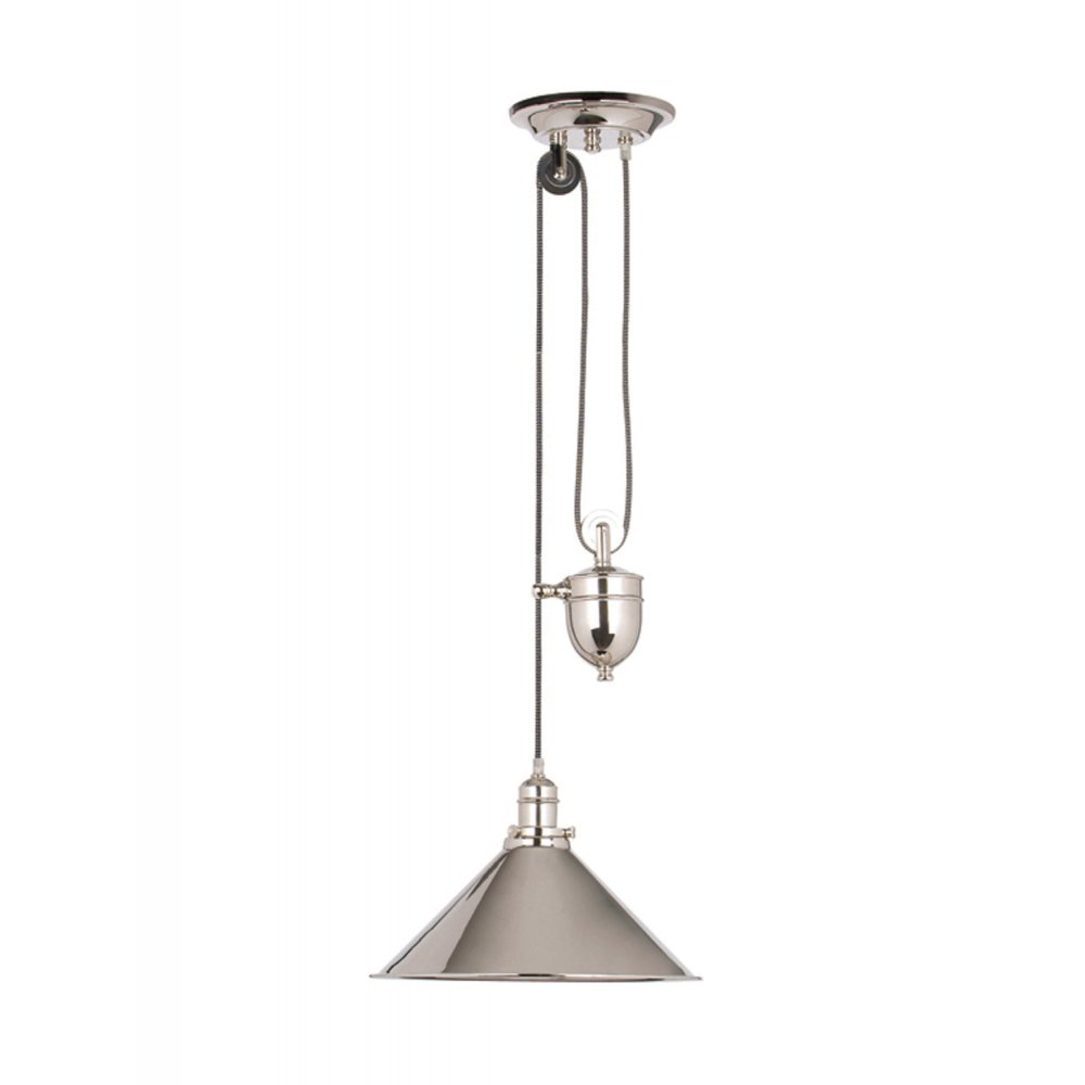 Provence Traditional Rise And Fall Ceiling Pendant Light