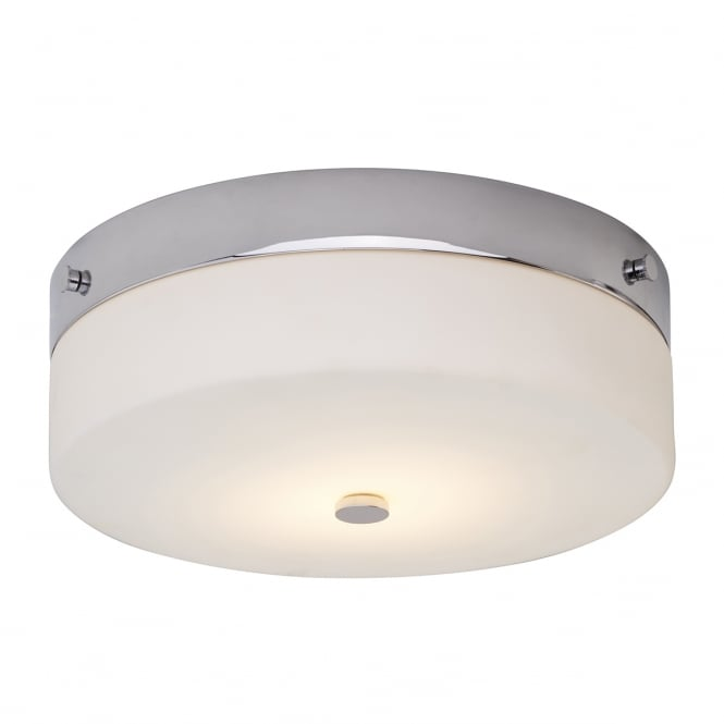 Chester Collection TAMAR IP44 flush fitting circular low ceiling light - large