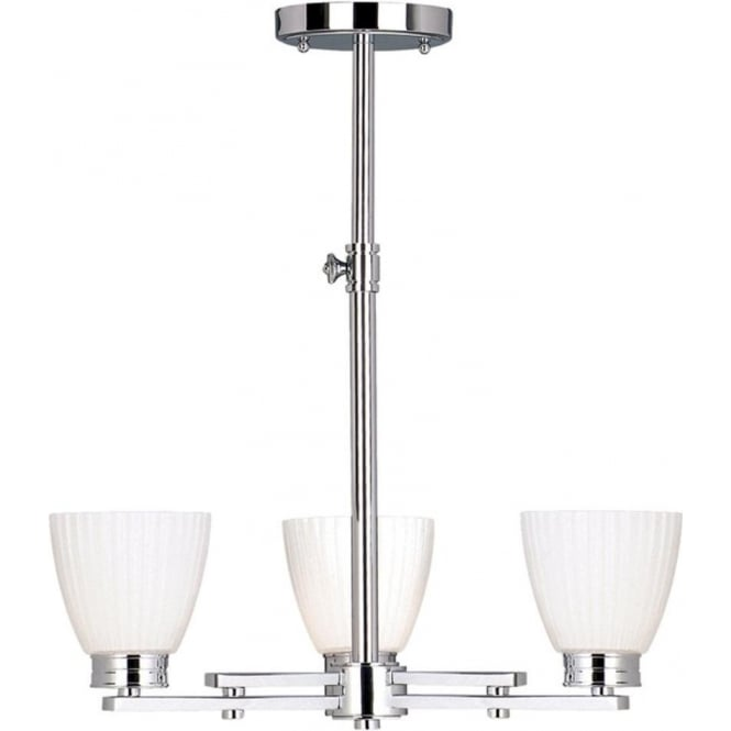 Chester Collection WALLINGFORD height adjustable bathroom ceiling light
