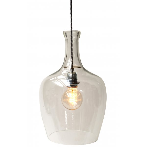 Ceiling Pendant Hanging Light Made From Demijohn Bottles