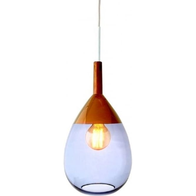 small hanging glass lights tt blue pendant