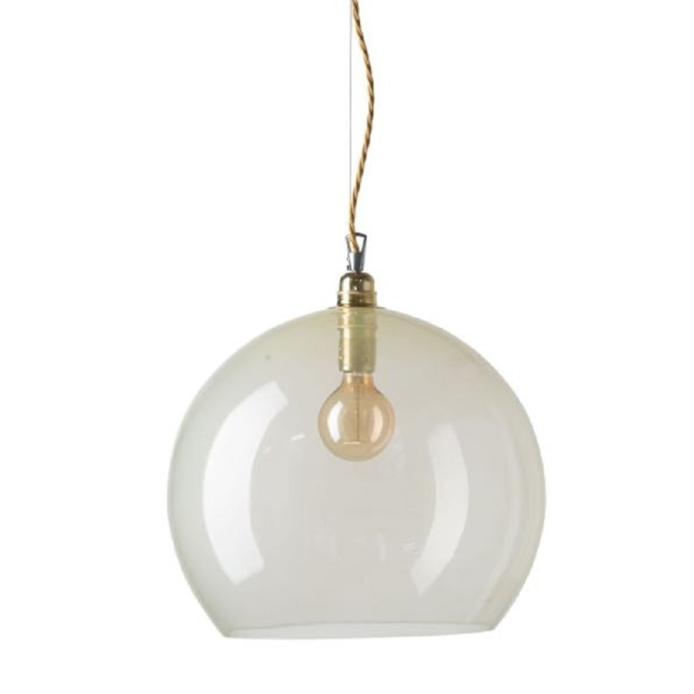 Hotel Collection Alabaster: Large Alabaster Glass Globe Ceiling Pendant Light Shade On