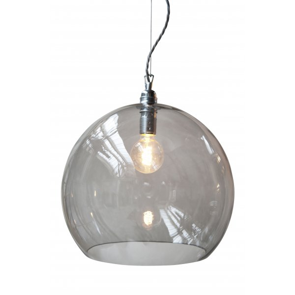 Glass Globe Pendant Light Nz Large Uk Clear Fixtures: Traditional Smokey Glass Globe Ceiling Pendant, Great For