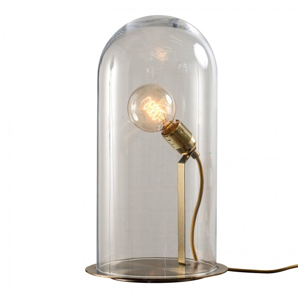 glass table lamp dome best inspiration for table lamp
