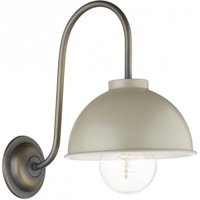 David Hunt Lighting COTSWOLD French cream painted metal wall light