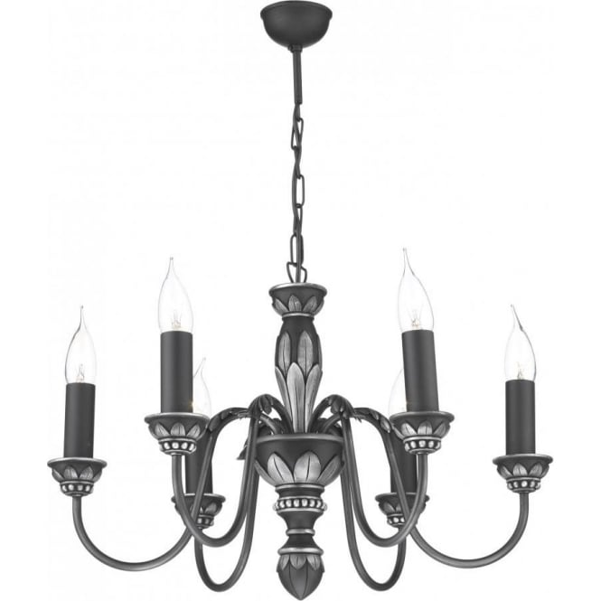 Ceiling light oxford traditional pewter pendant medieval gothic oxford traditional pewter ceiling pendant with 6 candle lights aloadofball Gallery