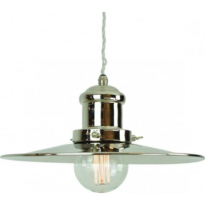 Nautical Decor Pendant Lighting: Vintage Fisherman Style Hanging Ceiling Pendant Light In