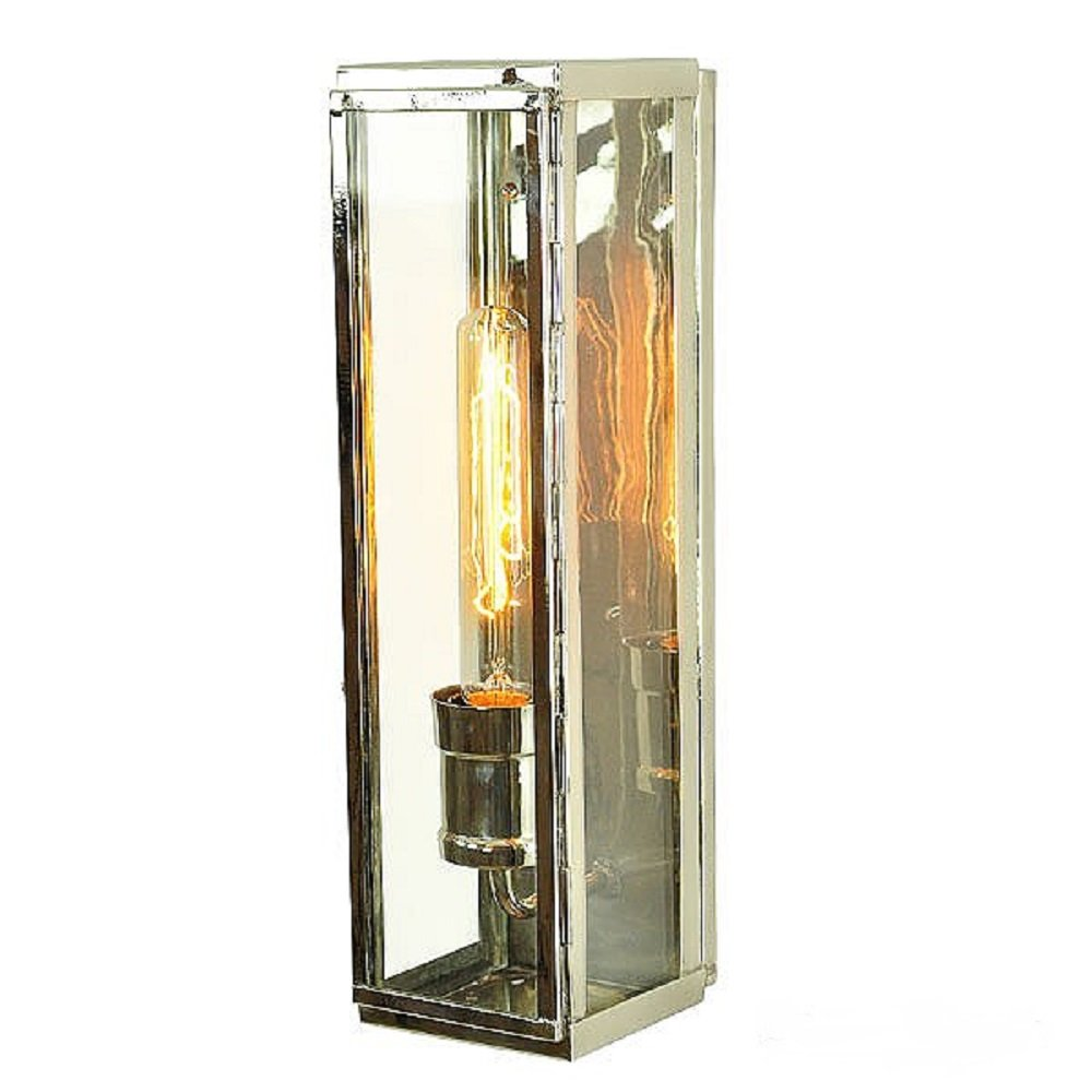 Outdoor Wall Light in Industrial Style with Rectangular ...