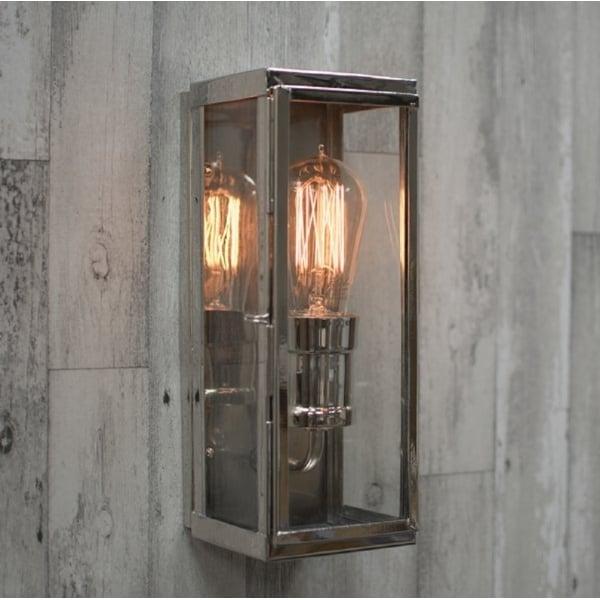 Nickel Outdoor Wall Light in Industrial Design with ...