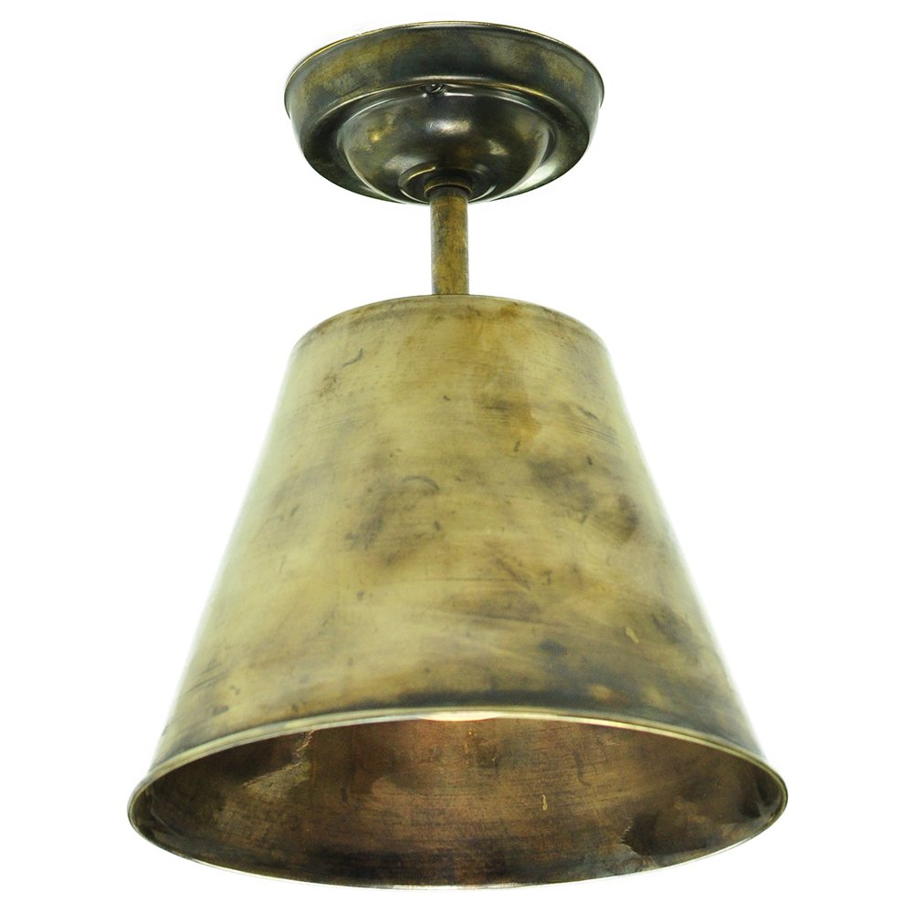 Industrial Antique Metal Low Ceiling Light with Dimmable ...