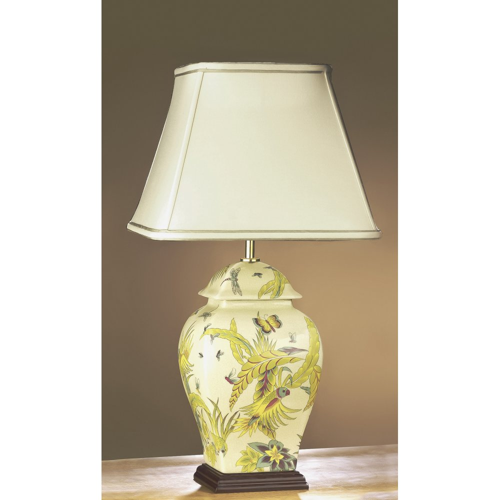 Ceramic table lamps interiors design table lamp collection empire table lamp collection parrot ceramic geotapseo Gallery