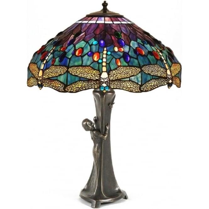 Tiffany lamp GURSCHNER Nouveau Art table 5Aj4RL
