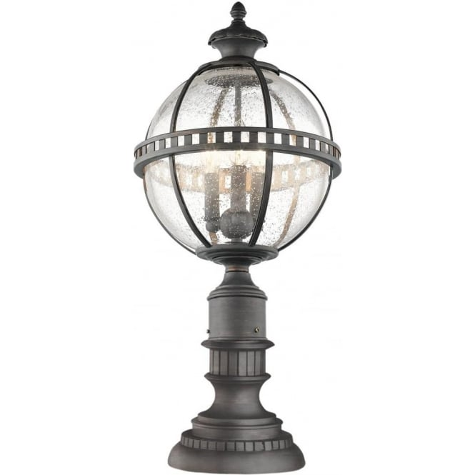 Lantern In Traditional Victorian Styling, Globe Outdoor Light Post