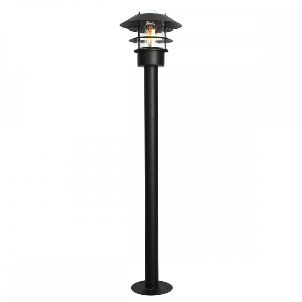 High Grade Stainless Steel Exterior Bollard Lantern For Coastal Areas