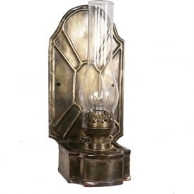 BARNSBURY replica Victorian oil lamp wall light