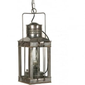 CARGO LAMP antique finish Victorian hanging lantern (large)