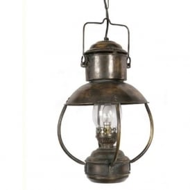 FALMOUTH reproduction American oil lamp ceiling pendant light