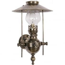 GALLEY LAMP reproduction Victorian oil lamp wall light