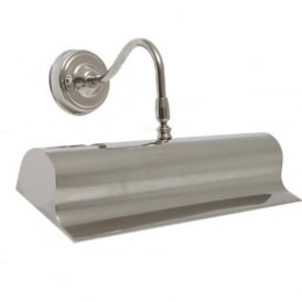 PICTURE LIGHT traditional silver nickel picture light