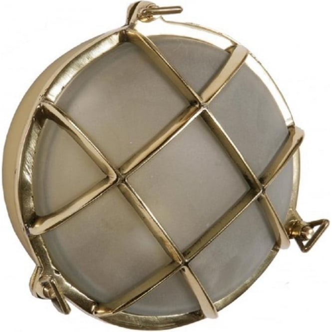 Ships bulkhead wall light for indoor or outdoor lighting ships bulkhead flush fitting circular nautical wall or ceiling light small aloadofball Images