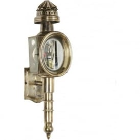 TRAP LAMP Victorian antique carriage lamp wall light