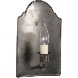 VESTRY Medieval style antique candle wall light