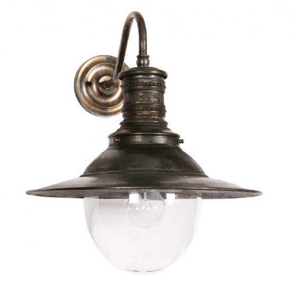 Victorian Station Lamp Wall Light For Indoor Or Outdoor Use