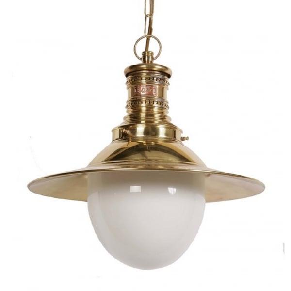 Station Lamp Pendant Light, Replica Victorian Railway