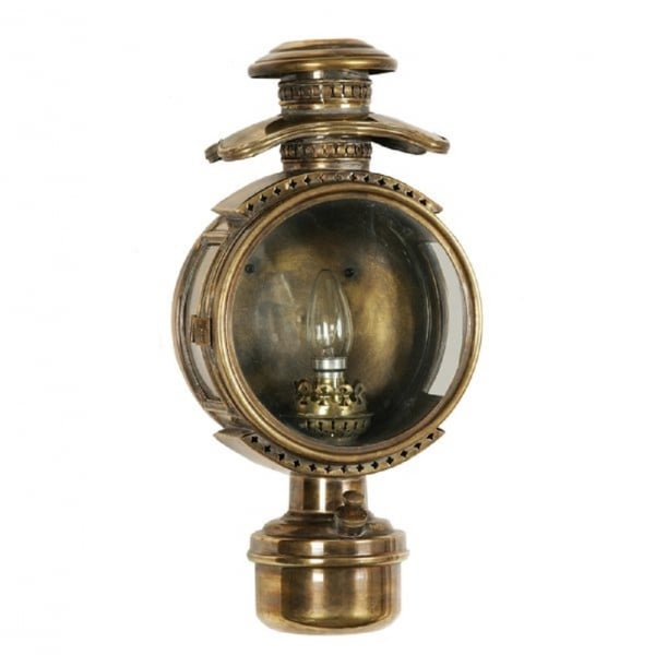 Victorian Oil Lamp Wall Light From 1860 39 S In Light Antique Finish