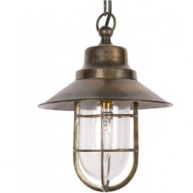 WHEELHOUSE nautical style hanging ceiling pendant light