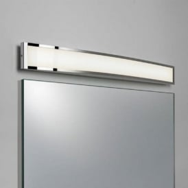 CHORD low energy LED curved bathroom wall light, IP44