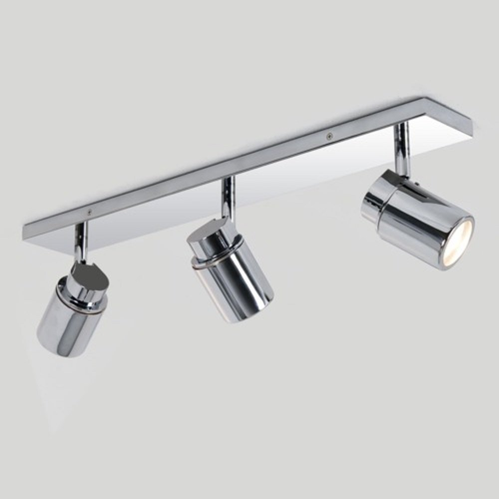 Bathroom Ceiling Spotlight Bar, 3 Adjustable Spotlights