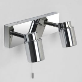 COMO bathroom twin wall spotlight bar, IP44