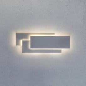 EDGE contemporary white panel wall light