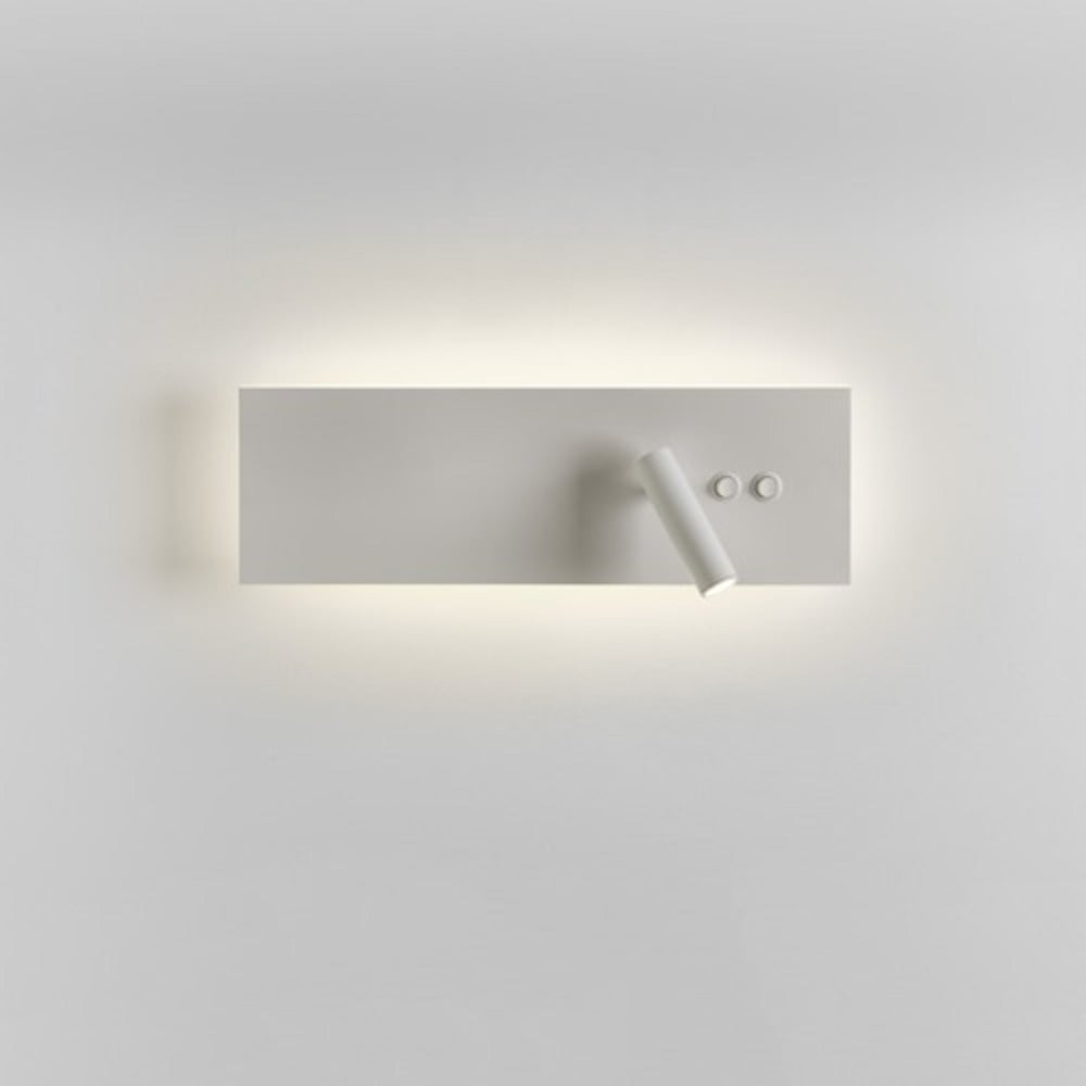 Led Wall Reading Light: Hotel Syle Over Bed Wall Light With Adjustable LED Book