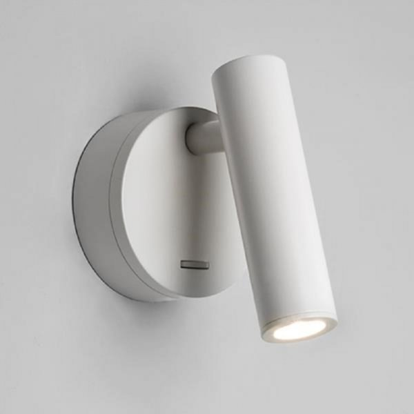 Wall Mounted Led Book Reading Light For Use Over Bed