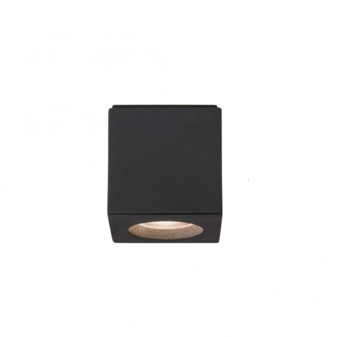 Imperial Hotel Lighting KOS surface mounted LED spotlight or downlight - square black fitting