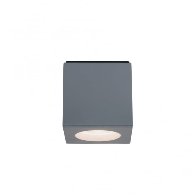 Imperial Hotel Lighting KOS surface mounted LED spotlight or downlight - square silver fitting