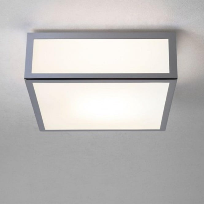 Small Square Bathroom Light Fitting Use as Wall Light or Ceiing Light