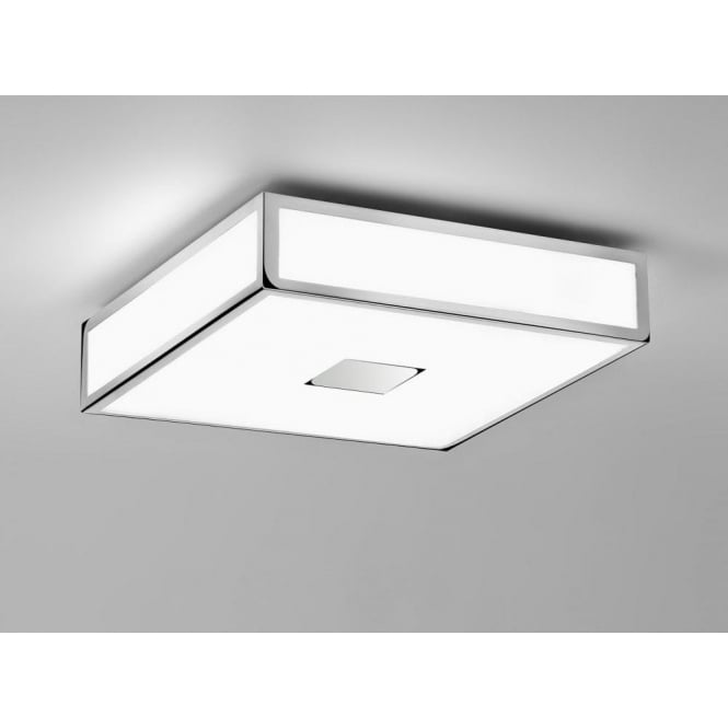 Imperial Hotel Lighting MASHIKO flush fitting IP44 low energy bathroom ceiling light - medium