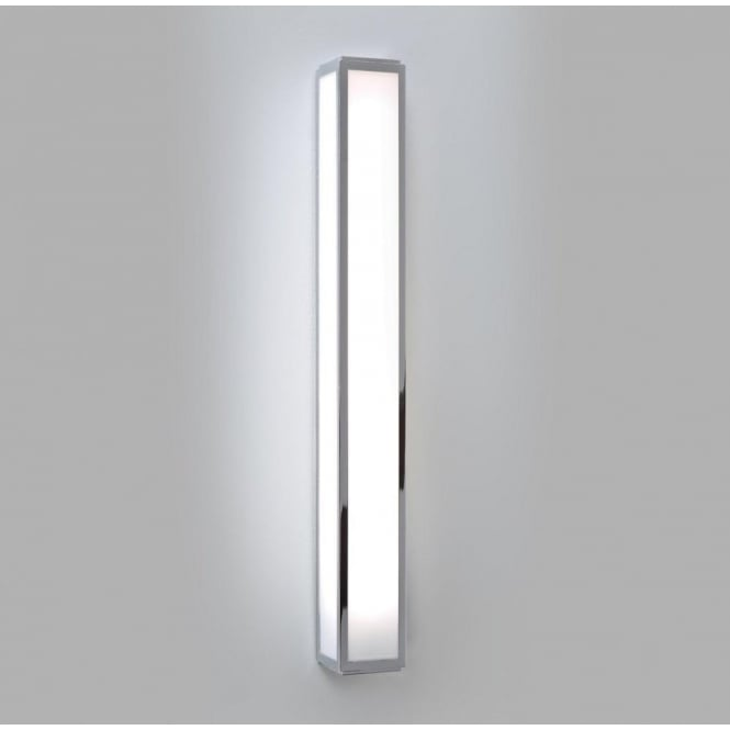 Led Wall Light Square : Long Rectangular Tube Shaped Bathroom Wall Light in Oriental Style