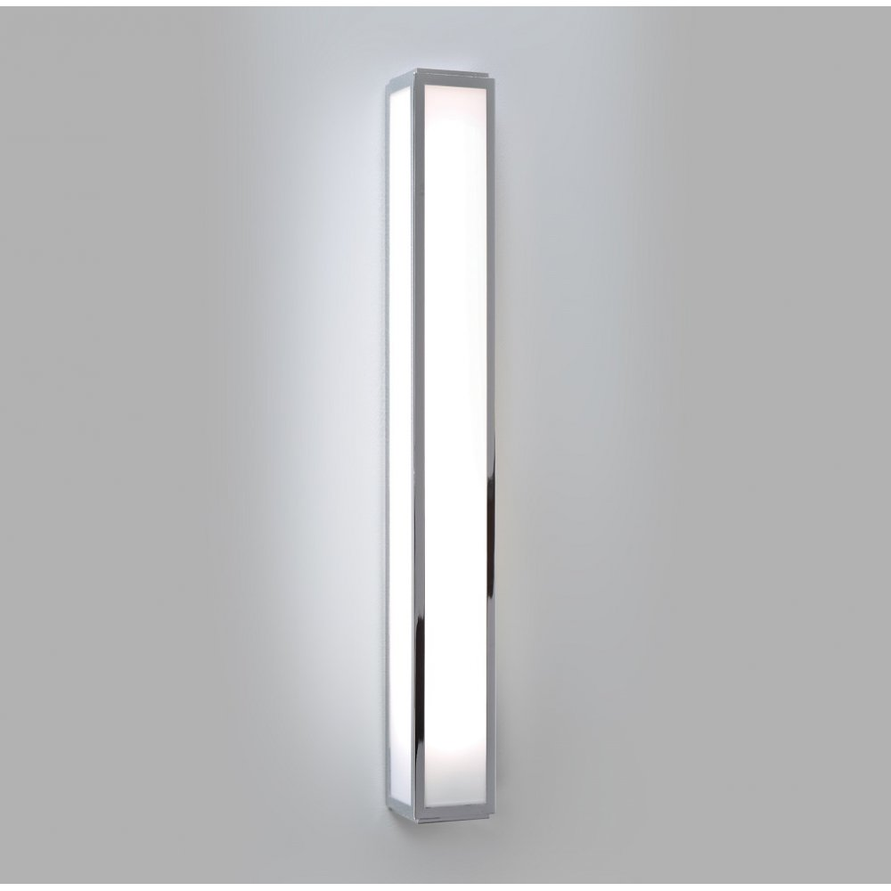 Long Rectangular Tube Shaped Bathroom Wall Light in ...