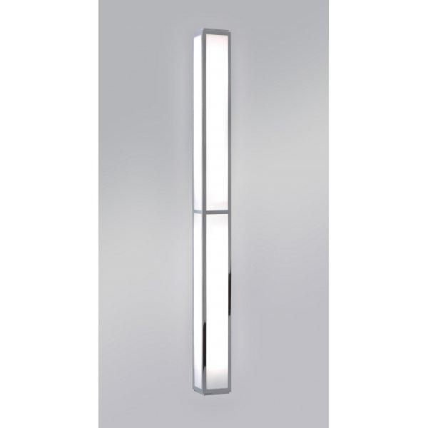 Oriental Style Long Thin Bathroom Wall Light Low Energy