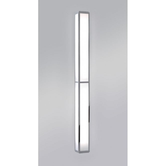 Oriental style long thin bathroom wall light low energy for Bathroom strip light
